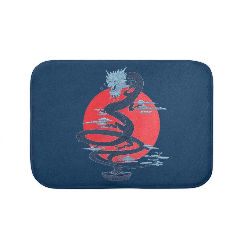 Dragon Bonsai Home Bath Mat by sachpica's Artist Shop