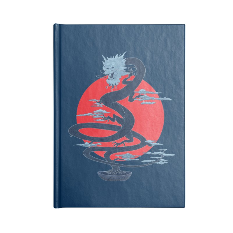 Dragon Bonsai Accessories Notebook by sachpica's Artist Shop