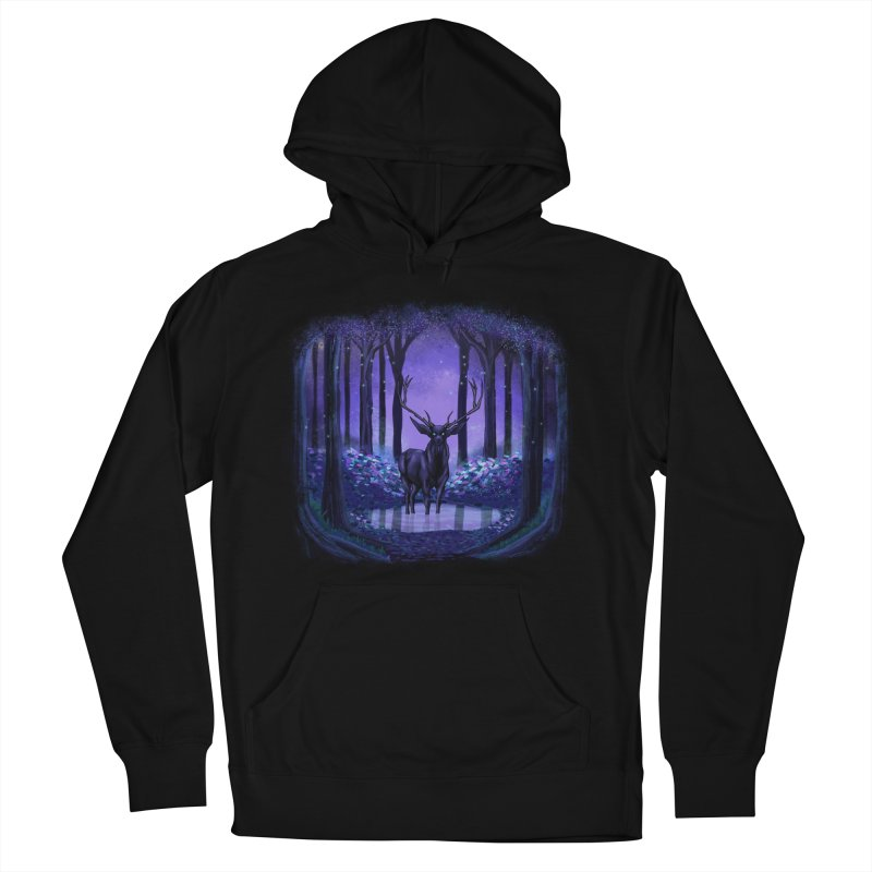 Elf forest Women's Pullover Hoody by sachpica's Artist Shop