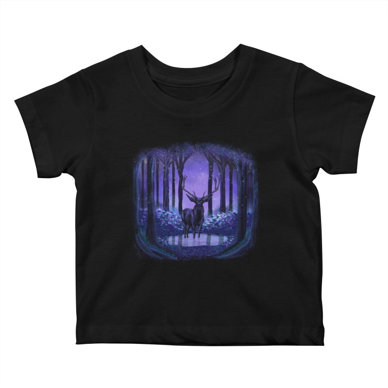 Elf forest Kids Baby T-Shirt by sachpica's Artist Shop