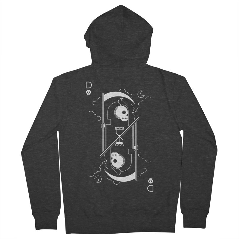 Death Women's Zip-Up Hoody by sachpica's Artist Shop