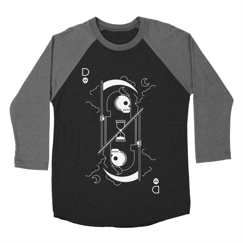 Death Men's Baseball Triblend T-Shirt by sachpica's Artist Shop