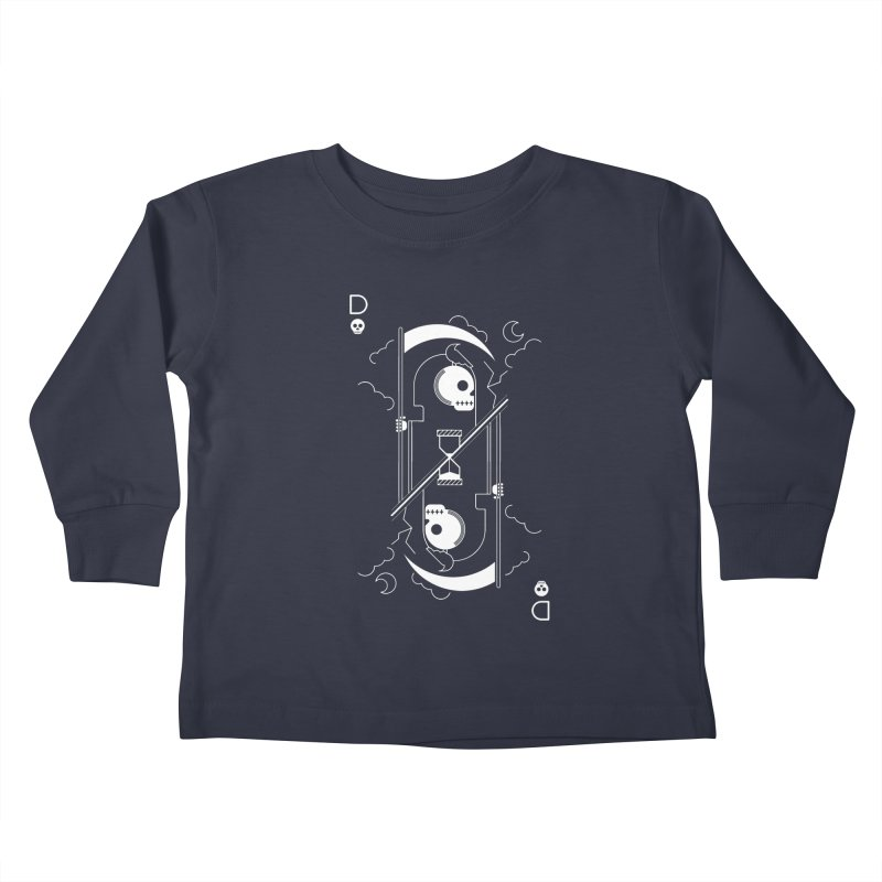 Death Kids Toddler Longsleeve T-Shirt by sachpica's Artist Shop