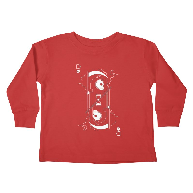 Death Kids Toddler Longsleeve T-Shirt by sachpica's Artist Shop