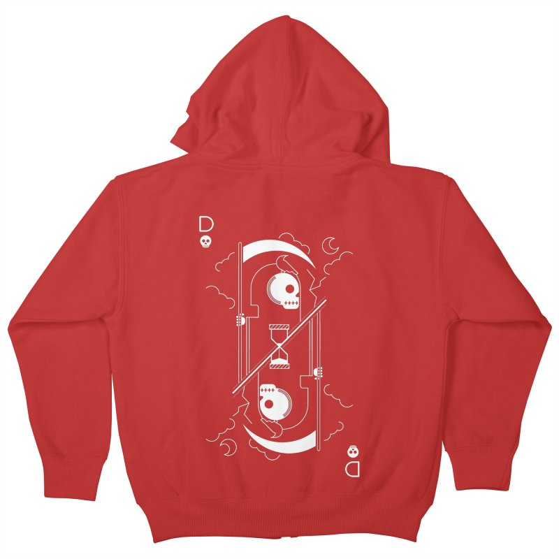 Death Kids Zip-Up Hoody by sachpica's Artist Shop