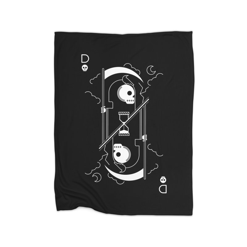 Death Home Blanket by sachpica's Artist Shop