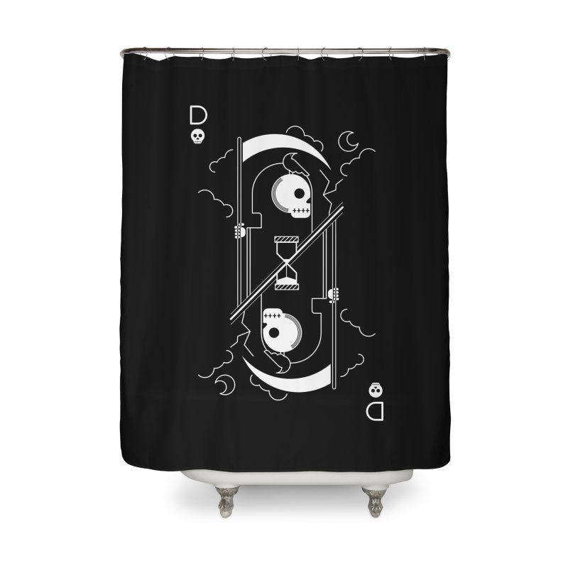 Death Home Shower Curtain by sachpica's Artist Shop
