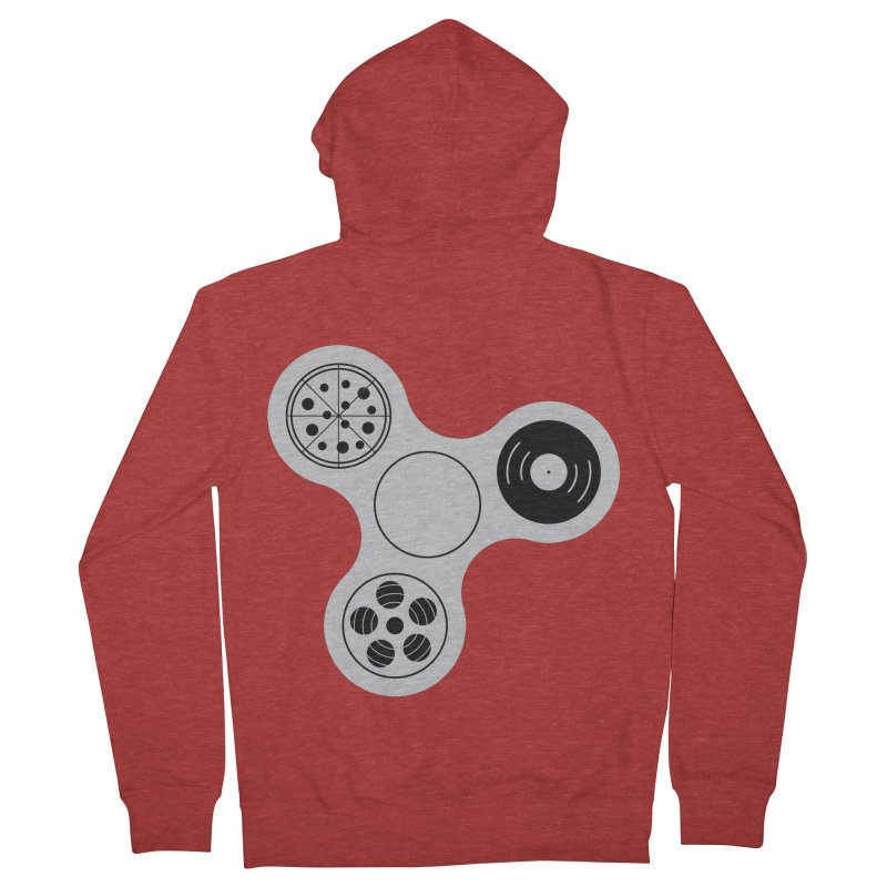 Don´t Stress Men's Zip-Up Hoody by sachpica's Artist Shop