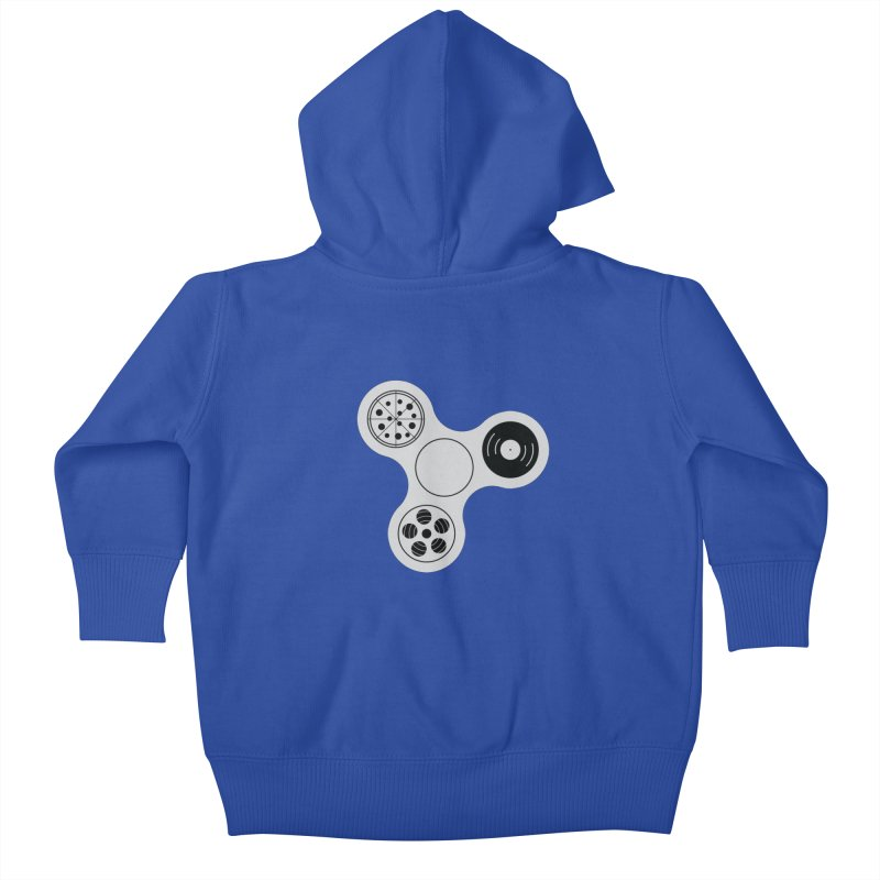 Don´t Stress Kids Baby Zip-Up Hoody by sachpica's Artist Shop