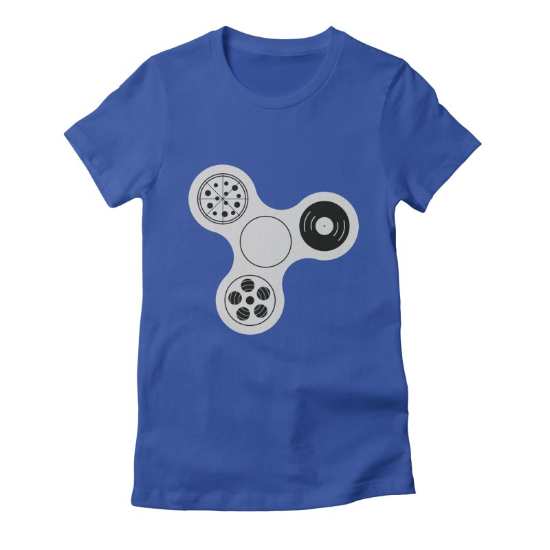 Don´t Stress Women's Fitted T-Shirt by sachpica's Artist Shop