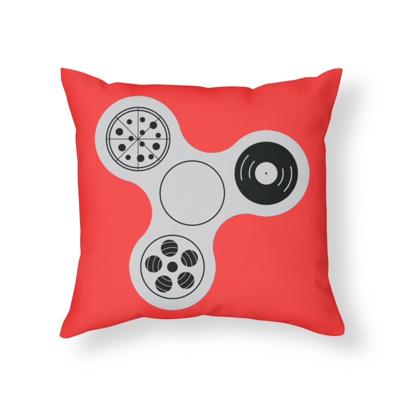 Don´t Stress Home Throw Pillow by sachpica's Artist Shop
