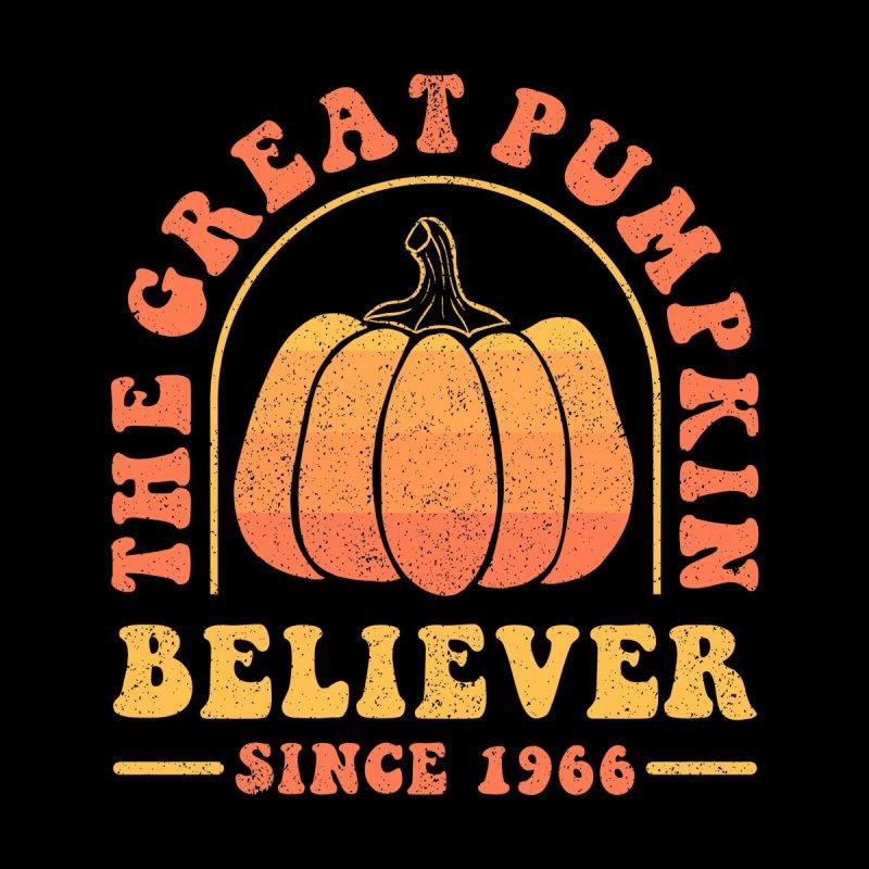 The Great Pumpkin Believer - Halloween Men's T-Shirt by sachpica's Artist Shop