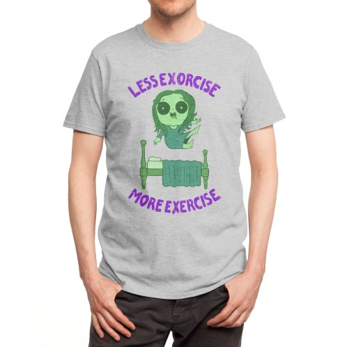 image for Less Exorcise More Exercise - Halloween