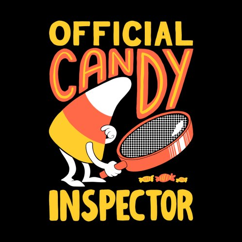 Design for Official Candy Inspector - Halloween