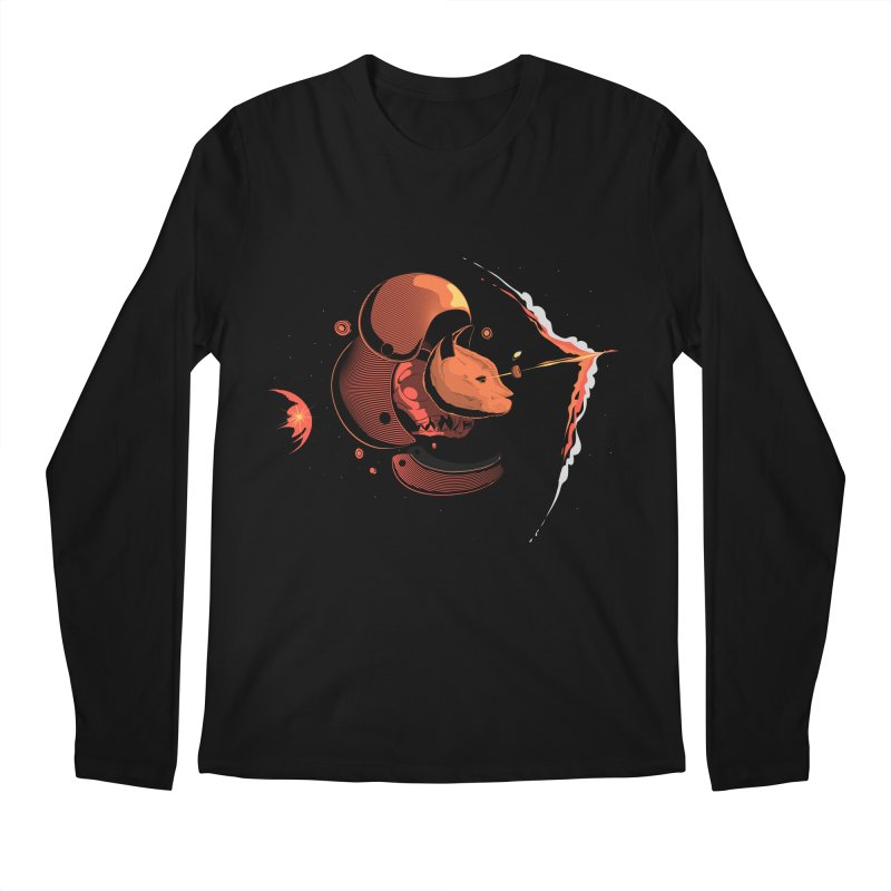 Nine Lives Men's Longsleeve T-Shirt by sachpica's Artist Shop