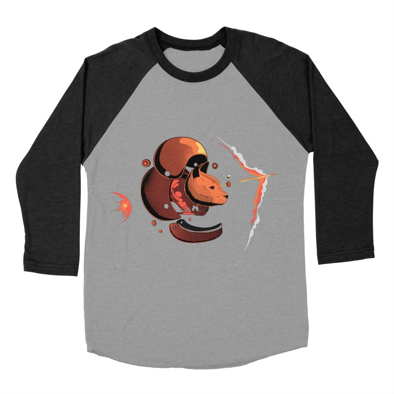 Nine Lives Men's Baseball Triblend T-Shirt by sachpica's Artist Shop