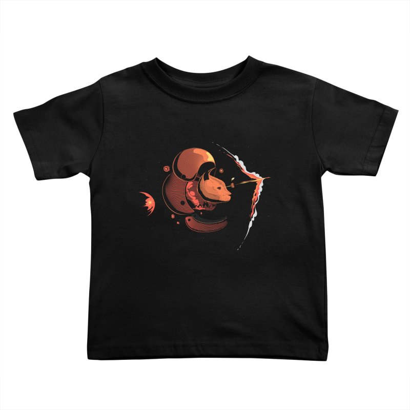 Nine Lives Kids Toddler T-Shirt by sachpica's Artist Shop