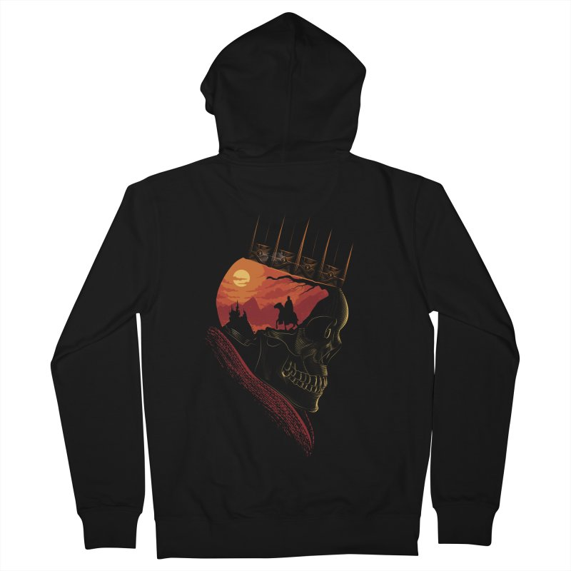 King Nothing Men's Zip-Up Hoody by sachpica's Artist Shop