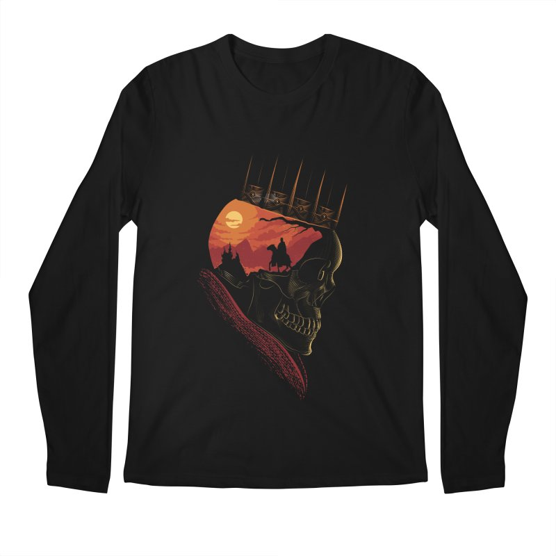King Nothing Men's Longsleeve T-Shirt by sachpica's Artist Shop