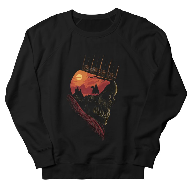 King Nothing Men's Sweatshirt by sachpica's Artist Shop