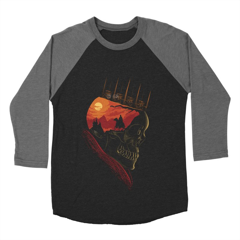 King Nothing Men's Baseball Triblend T-Shirt by sachpica's Artist Shop
