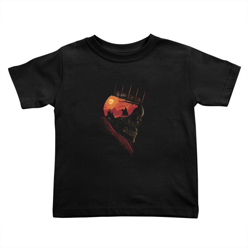 King Nothing Kids Toddler T-Shirt by sachpica's Artist Shop