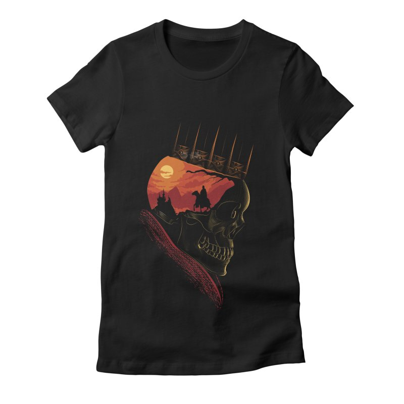 King Nothing Women's Fitted T-Shirt by sachpica's Artist Shop