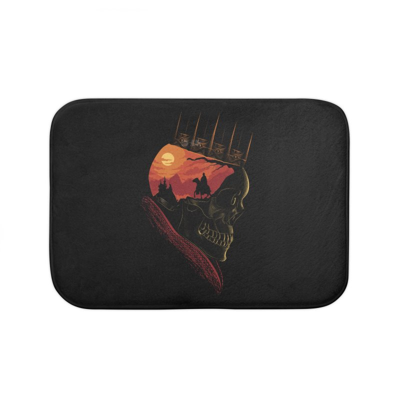 King Nothing Home Bath Mat by sachpica's Artist Shop