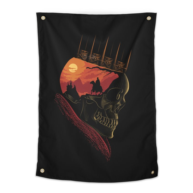 King Nothing Home Tapestry by sachpica's Artist Shop