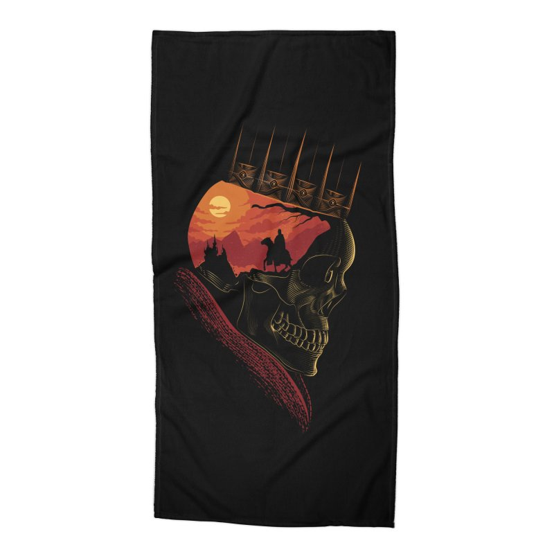 King Nothing Accessories Beach Towel by sachpica's Artist Shop
