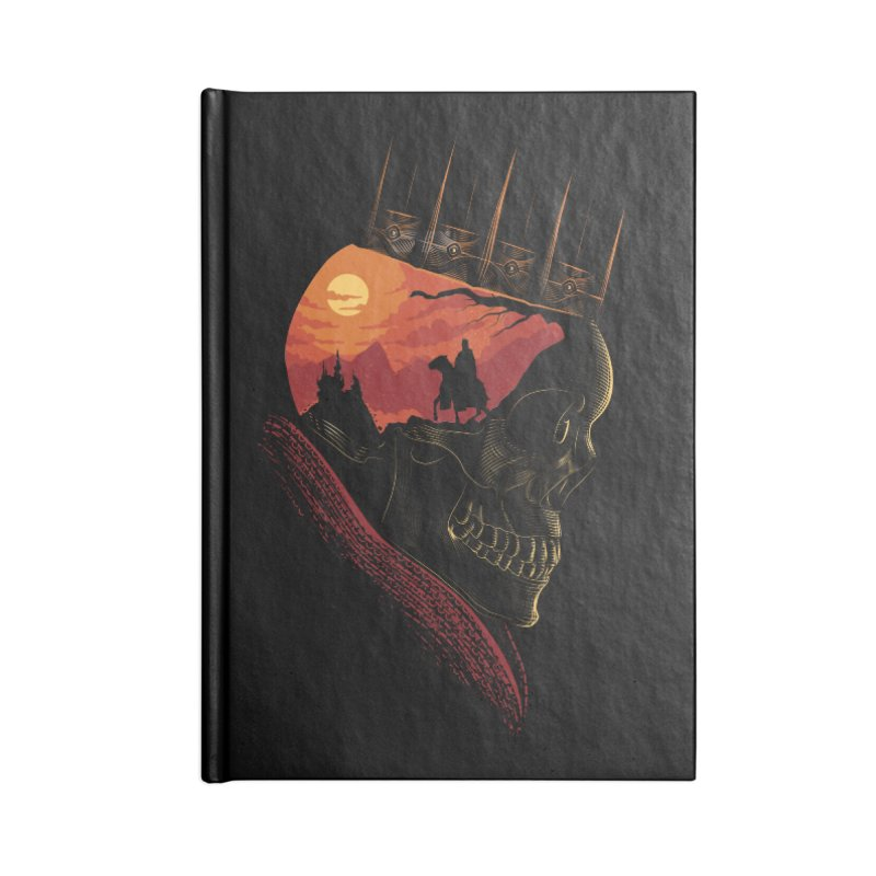 King Nothing Accessories Notebook by sachpica's Artist Shop