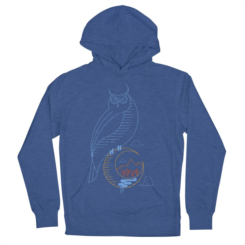 Night Owl Men's Pullover Hoody by sachpica's Artist Shop