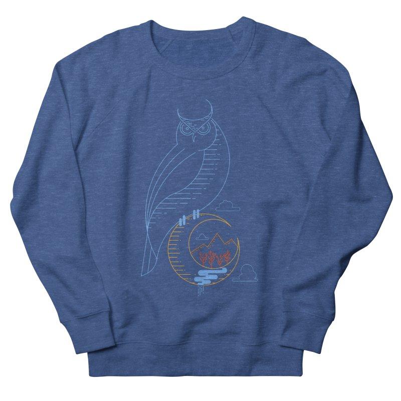 Night Owl Men's Sweatshirt by sachpica's Artist Shop
