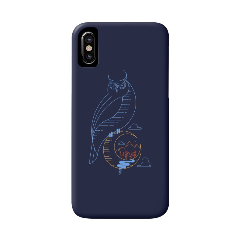 Night Owl Accessories Phone Case by sachpica's Artist Shop