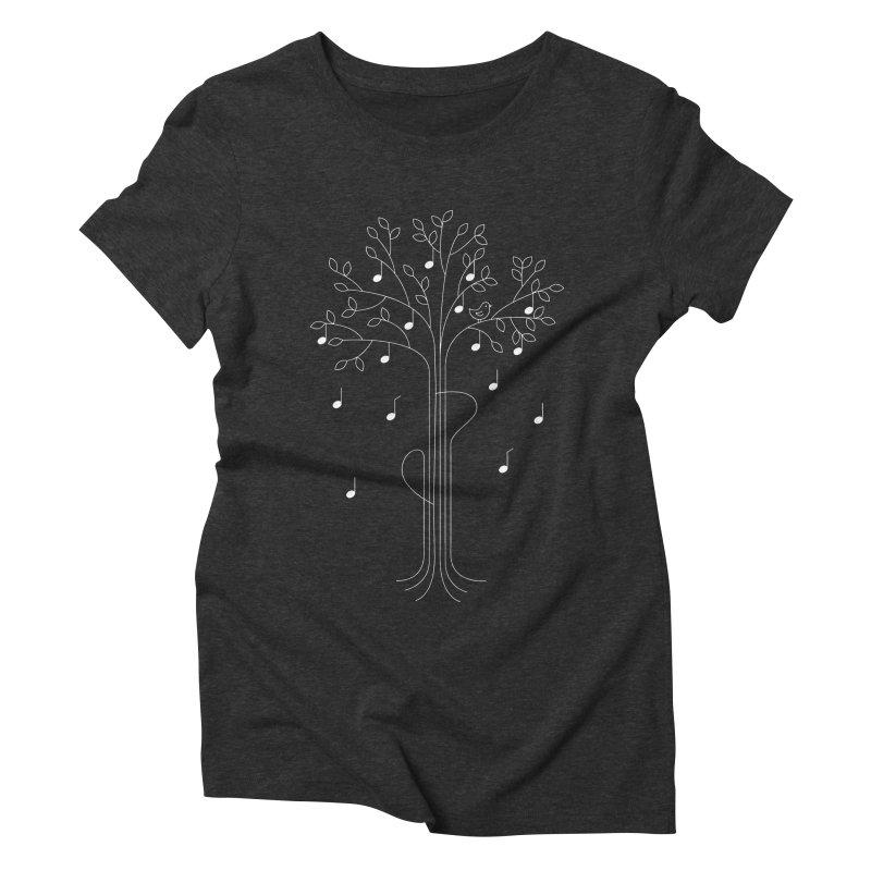The Musician Women's Triblend T-shirt by sachpica's Artist Shop