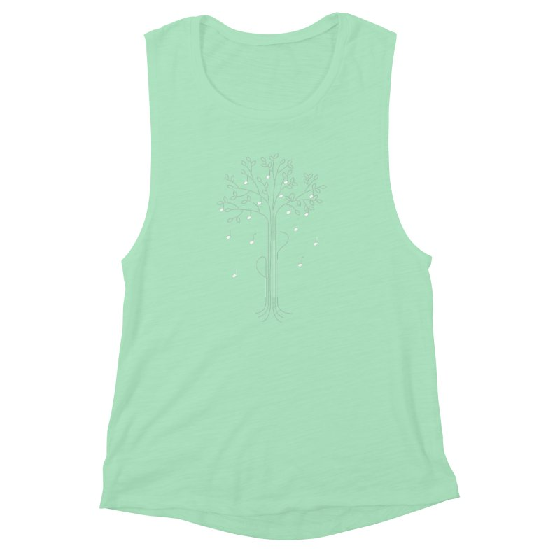 The Musician Women's Muscle Tank by sachpica's Artist Shop