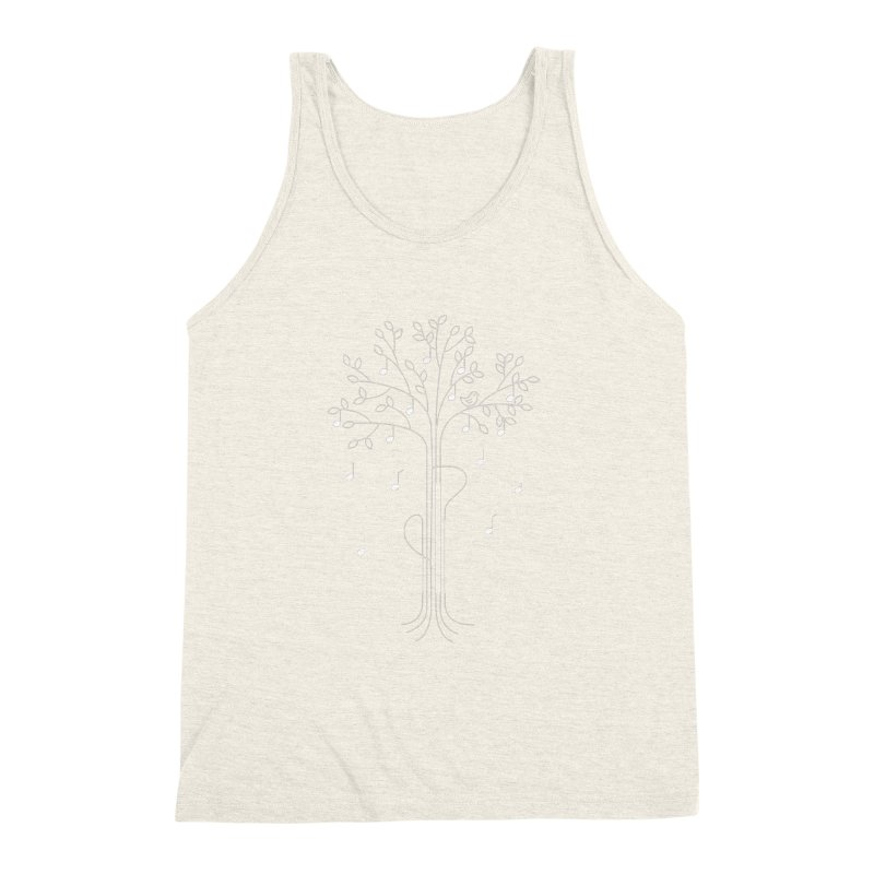 The Musician Men's Triblend Tank by sachpica's Artist Shop