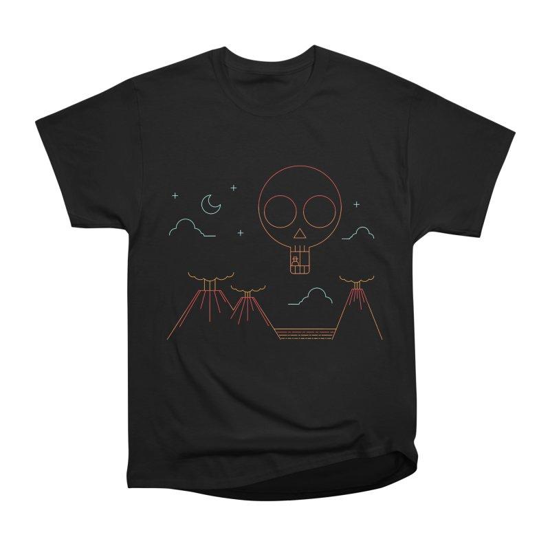 The Island Men's Heavyweight T-Shirt by sachpica's Artist Shop