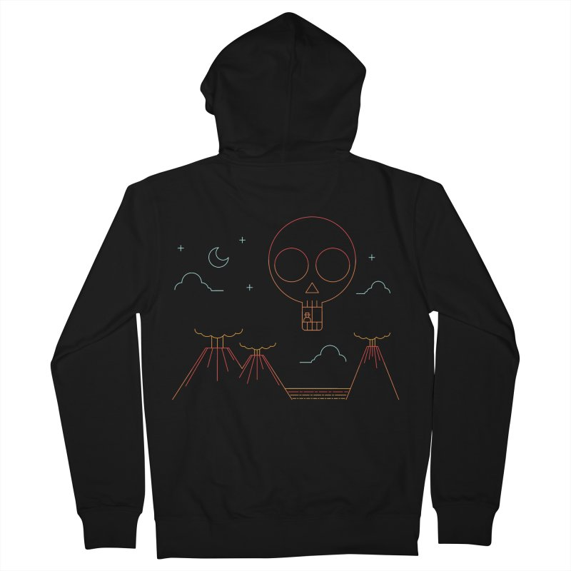 The Island Women's Zip-Up Hoody by sachpica's Artist Shop