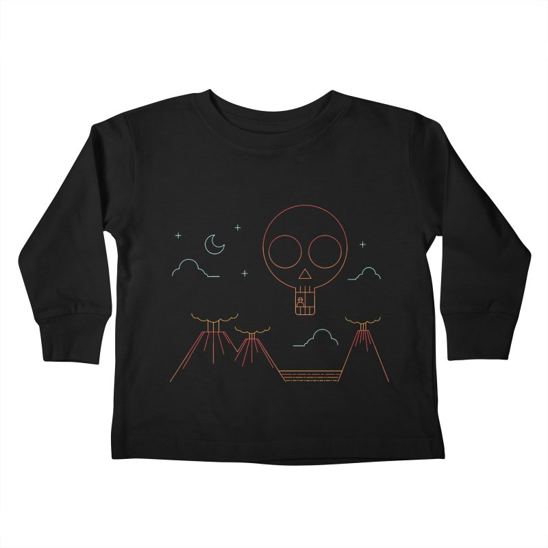 The Island Kids Toddler Longsleeve T-Shirt by sachpica's Artist Shop
