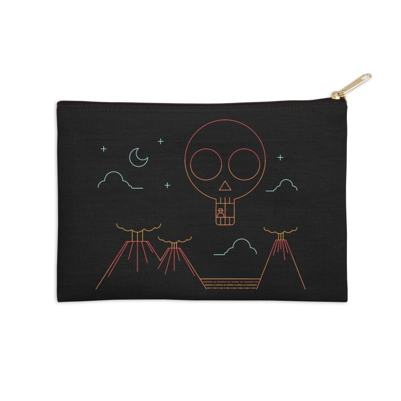 The Island Accessories Zip Pouch by sachpica's Artist Shop