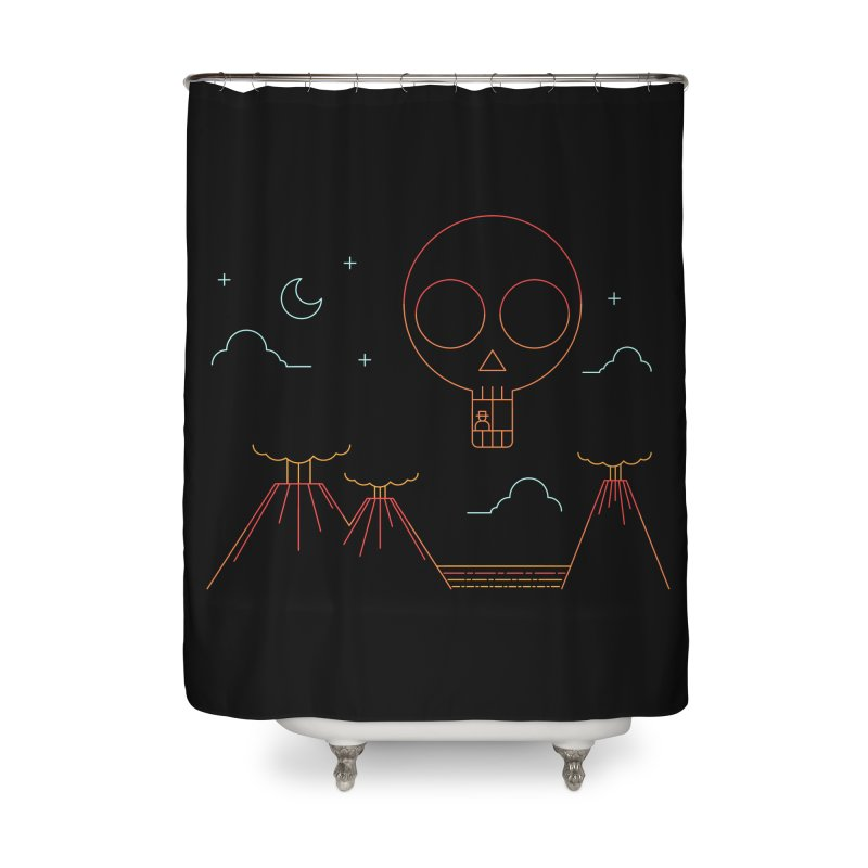 The Island Home Shower Curtain by sachpica's Artist Shop