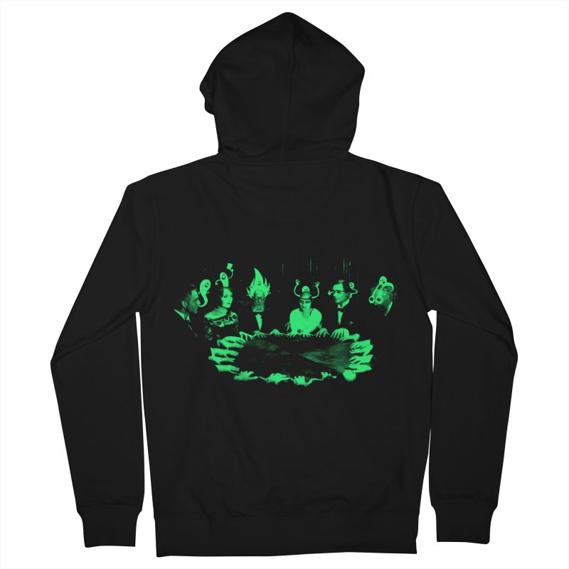 Night Vision Occult Men's Zip-Up Hoody by sachpica's Artist Shop