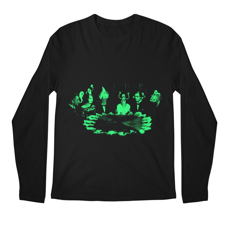 Night Vision Occult Men's Longsleeve T-Shirt by sachpica's Artist Shop