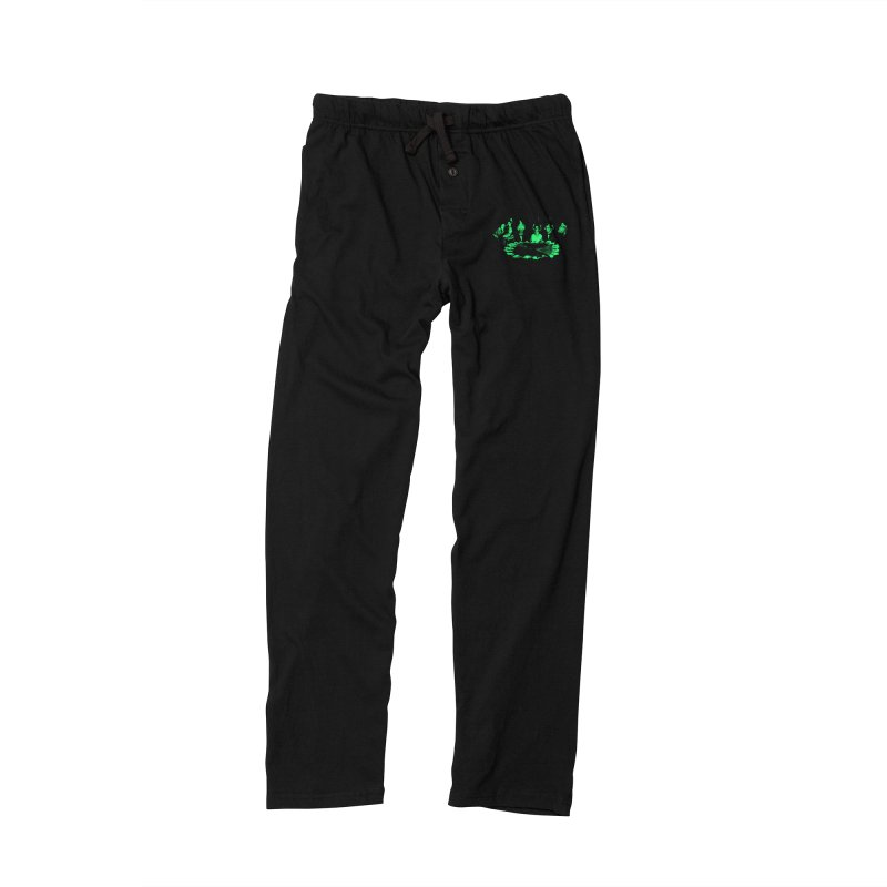 Night Vision Occult Men's Lounge Pants by sachpica's Artist Shop