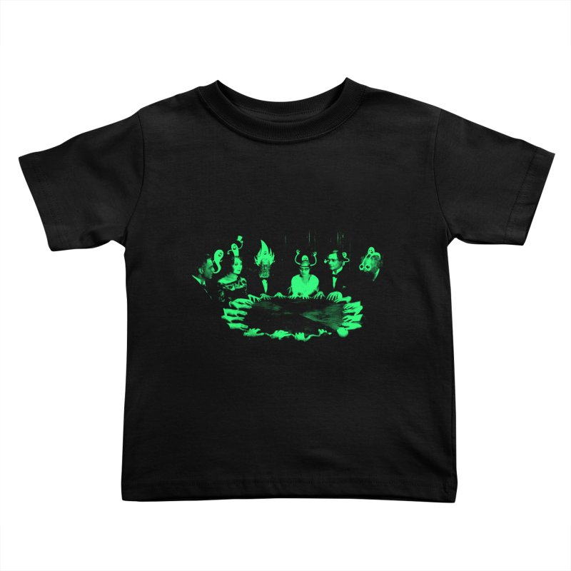 Night Vision Occult Kids Toddler T-Shirt by sachpica's Artist Shop