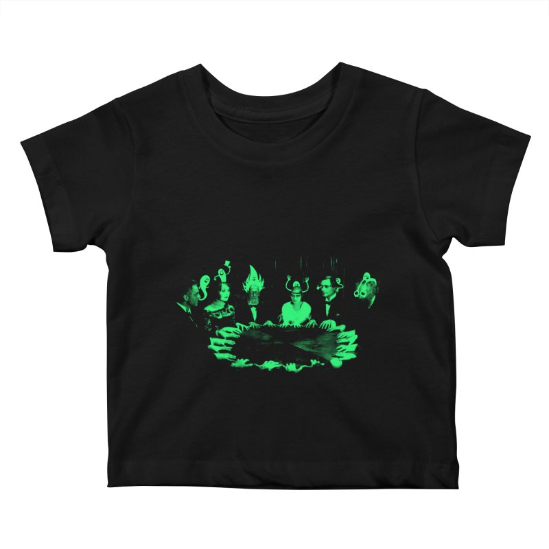 Night Vision Occult Kids Baby T-Shirt by sachpica's Artist Shop