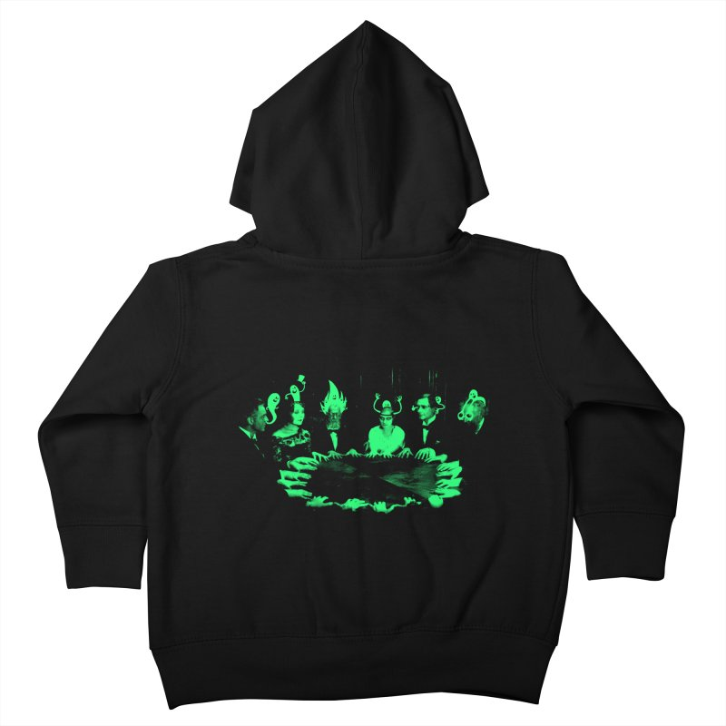 Night Vision Occult Kids Toddler Zip-Up Hoody by sachpica's Artist Shop