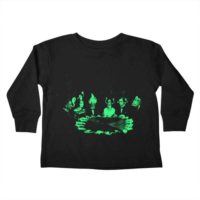 Night Vision Occult Kids Toddler Longsleeve T-Shirt by sachpica's Artist Shop