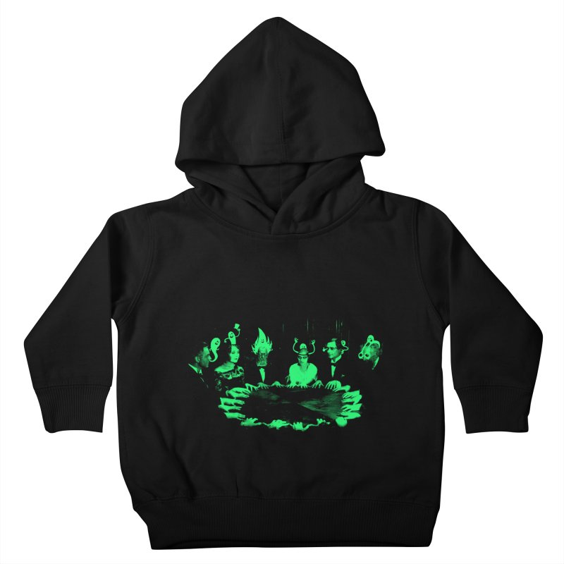 Night Vision Occult Kids Toddler Pullover Hoody by sachpica's Artist Shop